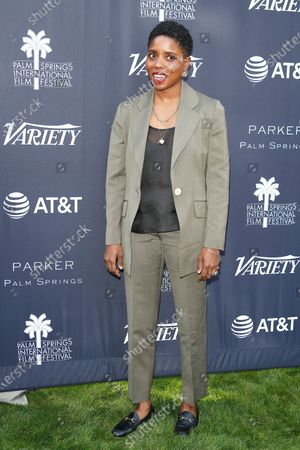Janicza Bravo arrives for the 'Variety's Creative Impact Awards and 10 Directors To Watch' event at the Parker Palm Springs, in Palm Springs, California, USA, 03 January 2020, as part of the 2020 Palm Springs International Film Festival.