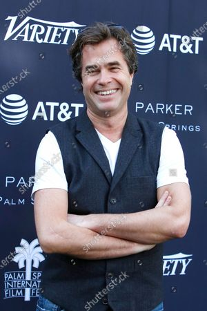 Rupert Goold arrives for the 'Variety's Creative Impact Awards and 10 Directors To Watch' event at the Parker Palm Springs, in Palm Springs, California, USA, 03 January 2020, as part of the 2020 Palm Springs International Film Festival.