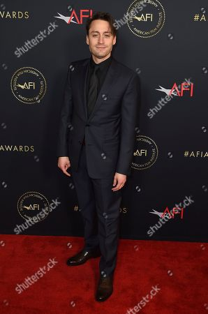 Kieran Culkin arrives at the 2020 AFI Awards at the Four Seasons on in Los Angeles