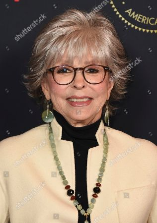 Rita Moreno arrives at the 2020 AFI Awards at the Four Seasons on in Los Angeles