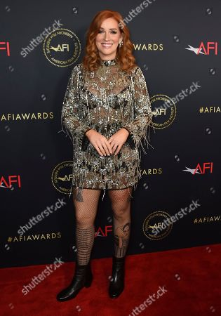 Stock Photo of Poppy Montgomery arrives at the 2020 AFI Awards at the Four Seasons on in Los Angeles