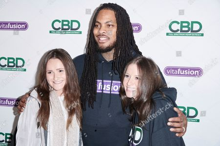 Stock Image of Scenes from the vitafusionô CBD Full Spectrum Hemp Extract Gummies Launch with Waka Flocka Flame, in New York