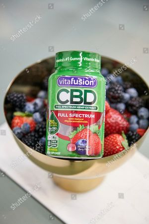 Editorial photo of vitafusion? CBD Full Spectrum Hemp Extract Gummies Launch, New York, USA - 03 Jan 2020