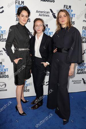 Noemie Merlant, Celine Sciamma and Adele Haenel