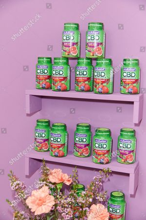 Stock Picture of Scenes from the vitafusionô CBD Full Spectrum Hemp Extract Gummies Launch with Waka Flocka Flame, in New York