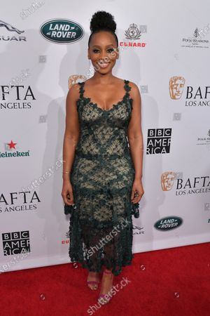 Editorial photo of BAFTA Tea Party, Arrivals, Four Seasons Hotel, Los Angeles, USA - 04 Jan 2020