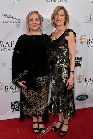 Mimi Leder and Geraldine Leder