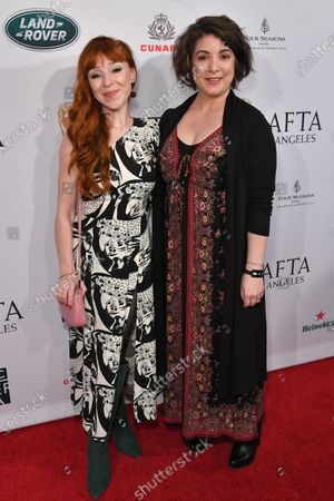 Ruth Connell and Christine Boylan