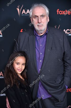 Stock Picture of Phillip Noyce and Ayanda Noyce