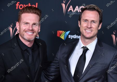 Stock Image of Martin Copping and Monty Franklin