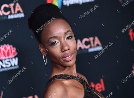 Stock Photo of Charmaine Bingwa