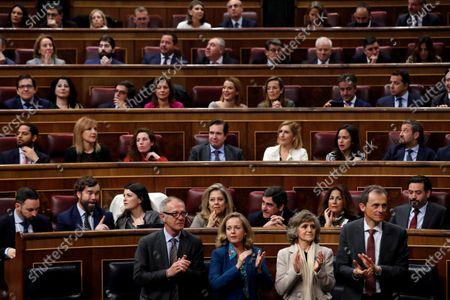 Editorial photo of Pedro Sanchez's Investiture debate, Madrid, Spain - 04 Jan 2020