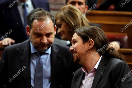 Editorial image of Pedro Sanchez's Investiture debate, Madrid, Spain - 04 Jan 2020