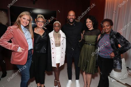 Daniela Taplin Lundberg - Producer, Kasi Lemmons - Director/Writer, Cynthia Erivo, Common, Debra Martin Chase - Producer and Vanessa Bell Calloway