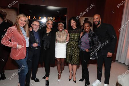 Daniela Taplin Lundberg - Producer, John Toll - Cinematographer, Kasi Lemmons - Director/Writer, Cynthia Erivo, Debra Martin Chase - Producer, Vanessa Bell Calloway and Common