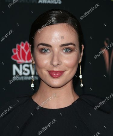 Editorial picture of 9th Annual Australian Academy of Cinema and Television Arts International Awards, Arrivals, Mondrian, Los Angeles, USA - 03 Jan 2020