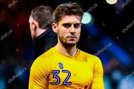 A dejected Danny Rose of Mansfield Town