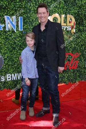 James Tupper and son Atlas