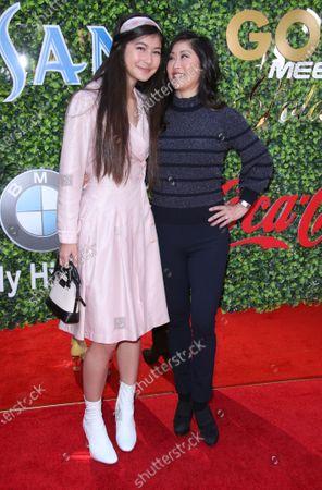 Kristi Yamaguchi and daughter Keara Kiyomi Hedican