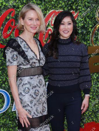 Stock Image of Naomi Watts and Kristi Yamaguchi