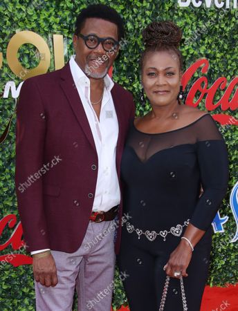 Judge Mathis and wife Linda Reese