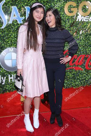 Keara Kiyomi Hedican and Kristi Yamaguchi