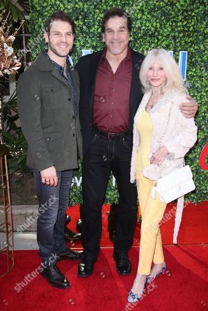 Lou Ferrigno Jr, Lou Ferrigno and Carla Ferrigno