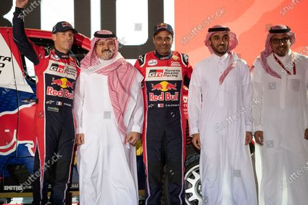 Editorial photo of Dakar Rally 2020 Podium Ceremony of departure, Jeddah, Saudi Arabia - 21 Dec 2019