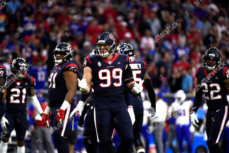 Editorial picture of Bills Texans Football, Houston, USA - 04 Jan 2020