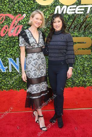 Naomi Watts, Kristi Yamaguchi