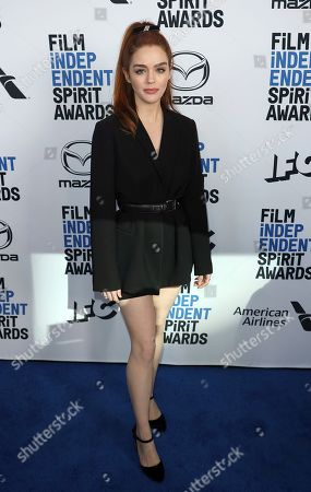 Stock Picture of Dana Melanie attends the 2020 Film Independent Spirit Awards Nominee Brunch at the Boa Steakhouse, in West Hollywood, Calif