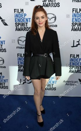 Dana Melanie attends the 2020 Film Independent Spirit Awards Nominee Brunch at the Boa Steakhouse, in West Hollywood, Calif