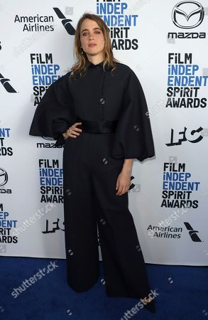 Adele Haenel attends the 2020 Film Independent Spirit Awards Nominee Brunch at the Boa Steakhouse, in West Hollywood, Calif