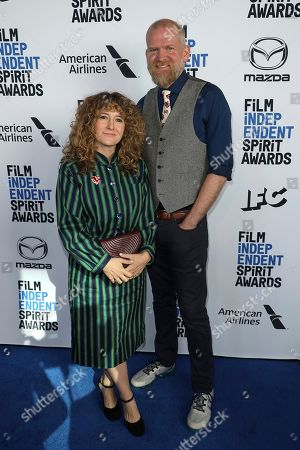 Hannah Bos, Paul Thureen. Hannah Bos, left, and Paul Thureen attend the 2020 Film Independent Spirit Awards Nominee Brunch at the Boa Steakhouse, in West Hollywood, Calif