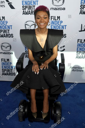 Lauren 'Lolo' Spencer attends the 2020 Film Independent Spirit Awards Nominee Brunch at the Boa Steakhouse, in West Hollywood, Calif