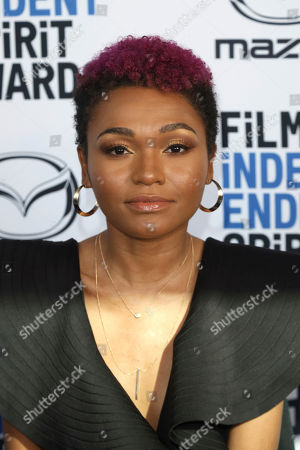 Stock Image of Lauren 'Lolo' Spencer attends the 2020 Film Independent Spirit Awards Nominee Brunch at the Boa Steakhouse, in West Hollywood, Calif