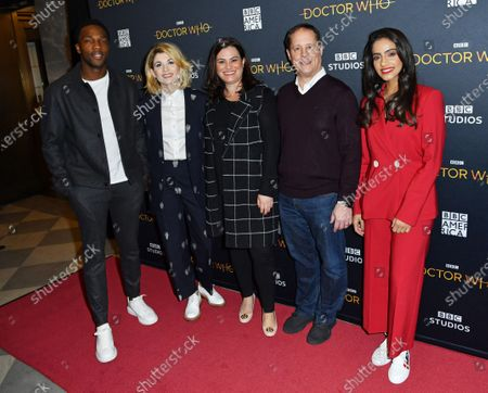 Stock Picture of Tosin Cole, Jodie Whittaker, Courtney Thomasma, Sergei Kuharsky, and Mandip Gill