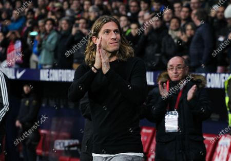 Filipe Luis ex Atletico de Madrid