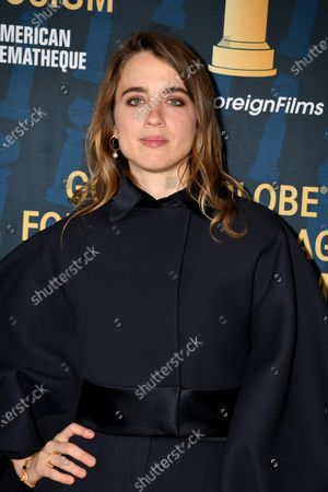 Adele Haenel attends the 2019 Golden Globe Foreign-Language Film Symposium in Hollywood, California, USA