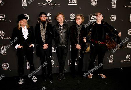Cheap Trick - Daxx Nielsen, Tom Petersson, Rick Nielsen and Robin Zander
