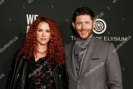 Danneel Ackles and Jensen Ackles