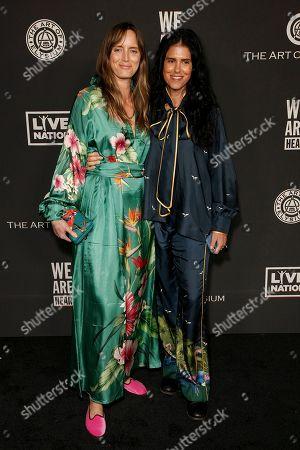 Stock Picture of Morgan Marling and Francesca Gregorini