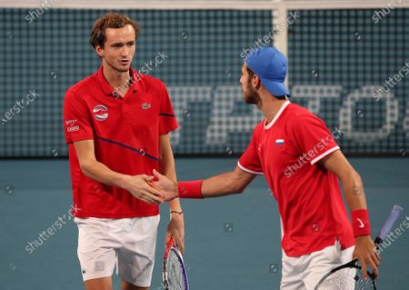Editorial picture of ATP Cup tennis tournament, Perth, Australia - 05 Jan 2020