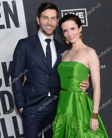 Stock Image of David Guintoli and Bitsie Tulloch
