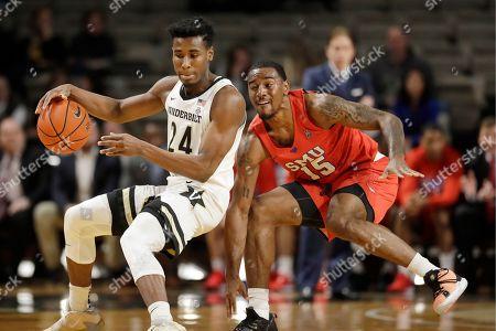 Editorial picture of SMU Vanderbilt Basketball, Nashville, USA - 04 Jan 2020