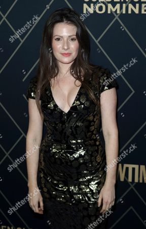 Stock Image of Aleksa Palladino attends the 2020 Showtime Golden Globe Nominees Celebration at the Sunset Tower Hotel, in Los Angeles