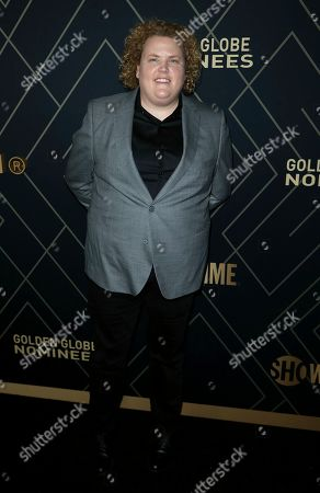 Fortune Feimster attends the 2020 Showtime Golden Globe Nominees Celebration at the Sunset Tower Hotel, in Los Angeles