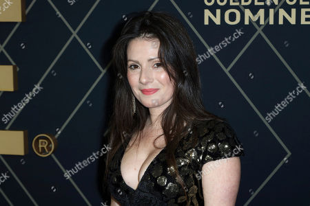 Aleksa Palladino attends the Showtime Golden Globe Nominees Celebration at Sunset Tower Hotel, in Los Angeles