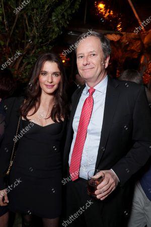 Rachel Weisz, Michael Burns, Vice Chairman, Lionsgate,