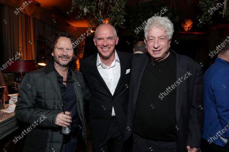 Ram Bergman, Joe Drake, Co-Chairman of Lionsgate Motion Picture Group, Avi Lerner